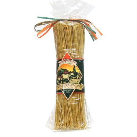 Pasta Partners Italian Blend Spaghetti, Garlic & Basil, Plentiful Pantry, Pasta Partners, Chidester Farms, Z'Pasta, Gourmet Food Group, Intermountain Specialty Food Group