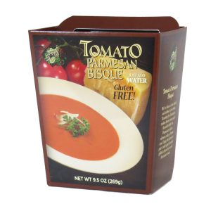 Plentiful Pantry Tomato Parmesan Bisque Soup, Plentiful Pantry, Pasta Partners, Chidester Farms, Z'Pasta, Gourmet Food Group, Intermountain Specialty Food Group