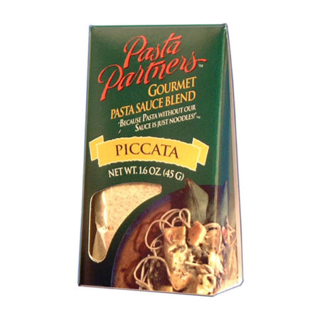 Pasta Partners Piccata Sauce, Plentiful Pantry, Pasta Partners, Chidester Farms, Z'Pasta, Gourmet Food Group, Intermountain Specialty Food Group