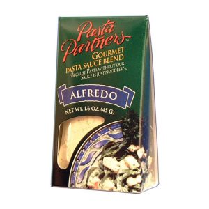 Pasta Partners Alfredo Sauce, Plentiful Pantry, Pasta Partners, Chidester Farms, Z'Pasta, Gourmet Food Group, Intermountain Specialty Food Group