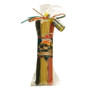 Pasta Partners Rainbow Angel Hair Pasta with Oil, Plentiful Pantry, Pasta Partners, Chidester Farms, Z'Pasta, Gourmet Food Group, Intermountain Specialty Food Group