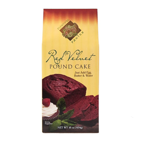 Plentiful Pantry Red Velvet Pound Cake, Plentiful Pantry, Pasta Partners, Chidester Farms, Z'Pasta, Gourmet Food Group, Intermountain Specialty Food Group