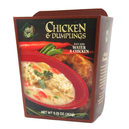 Plentiful Pantry Chicken and Dumpling Soup, Plentiful Pantry, Pasta Partners, Chidester Farms, Z'Pasta, Gourmet Food Group, Intermountain Specialty Food Group