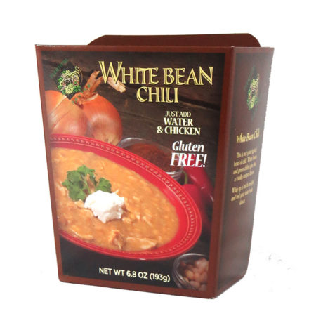 Plentiful Pantry White Bean Chili, Plentiful Pantry, Pasta Partners, Chidester Farms, Z'Pasta, Gourmet Food Group, Intermountain Specialty Food Group
