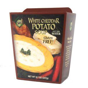 Plentiful Pantry White Cheddar Potato Soup, Plentiful Pantry, Pasta Partners, Chidester Farms, Z'Pasta, Gourmet Food Group, Intermountain Specialty Food Group