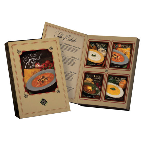 Plentiful Pantry The Souperb Collection Soup Gift Set, Plentiful Pantry, Pasta Partners, Chidester Farms, Z'Pasta, Gourmet Food Group, Intermountain Specialty Food Group